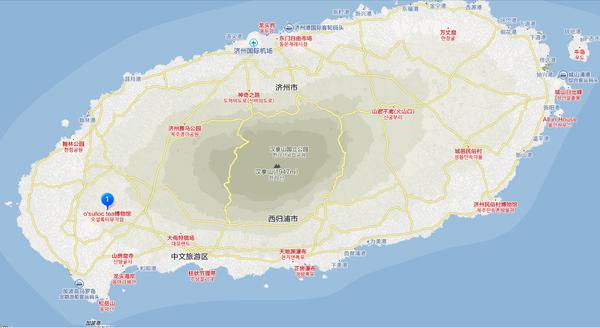濟州島地圖 20140326