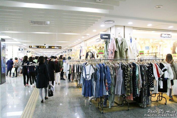 韓國首爾 高速巴士客運站地下街 Goto Mall 韓國五大購物地下街之一 鄰近新沙江南區