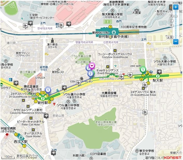 孔陵一隻雞MAP