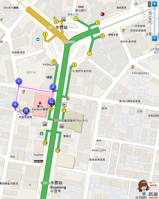 李河榮醬蟹地圖交通路線