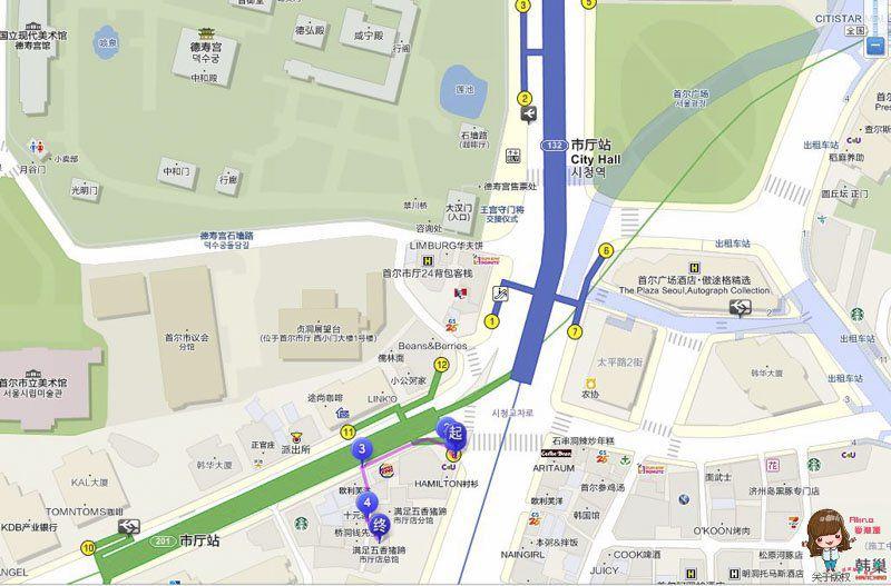 滿足五香豬腳地圖交通路線