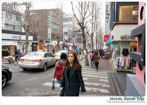 [ 2013.03 ] 韓國首爾自由行-梨花女子大學 ISAAC美味早餐、女人街連男人都好買 @Alina 愛琳娜 嗑美食瘋旅遊