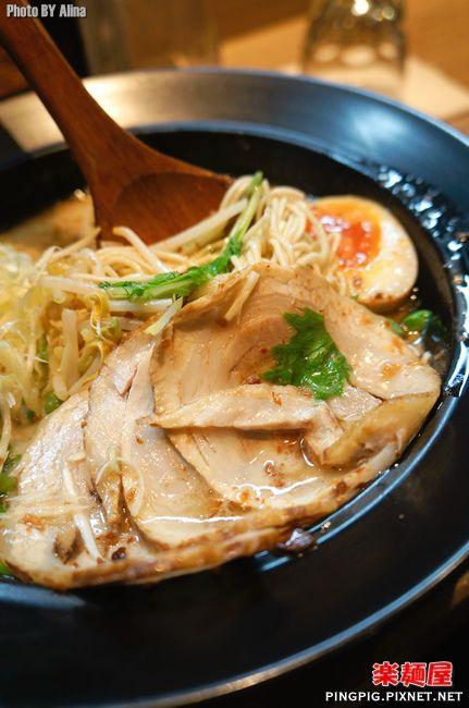 [ 食記 ] 台北西門町 樂麵屋 – 麵條粗細.湯頭濃度全照你喜好調配的日式拉麵 @Alina 愛琳娜 嗑美食瘋旅遊