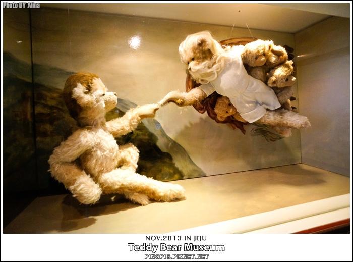 [ 濟州島自由行 ] 韓國 泰迪熊博物館 西歸浦中文觀光區 테디베어 뮤지엄 Teddy Bear Museum @Alina 愛琳娜 嗑美食瘋旅遊
