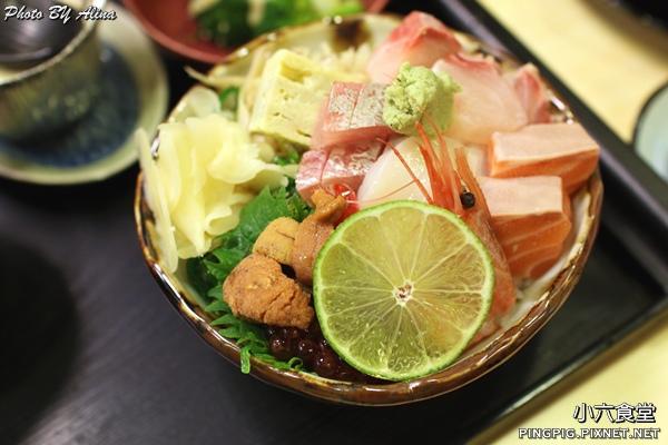【食記】台北行天宮 小六食堂 二訪 – 吃過小六的海膽海鮮丼飯後,嘴巴變刁了! @Alina 愛琳娜 嗑美食瘋旅遊