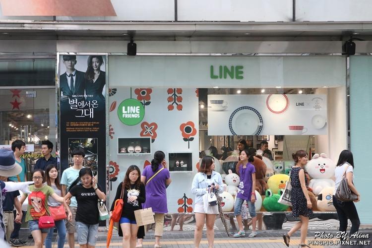 【首爾自由行】明洞424/202 LINE FRIENDS專賣店 Young Plaza讓人失心瘋的熊大兔兔周邊商品