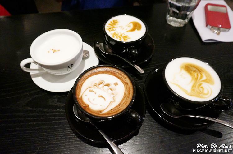 【食記】台北市府 信義松菸 Artista Perfetto AP Cafe 咖啡拉花與包頭五妞妞的下午茶 @Alina 愛琳娜 嗑美食瘋旅遊