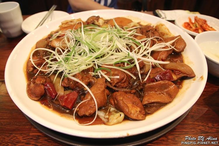 【韓國首爾自由行】424明洞 安東燉雞 안동찜닭 명동점 重口味紅燒燉雞腿肉 再辣也要吃! @Alina 愛琳娜 嗑美食瘋旅遊