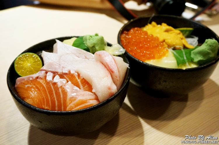 【食記】台北中山國中站 躼腳日式料理 身長腳海鮮丼飯 鮭魚生魚片好肥美 @Alina 愛琳娜 嗑美食瘋旅遊