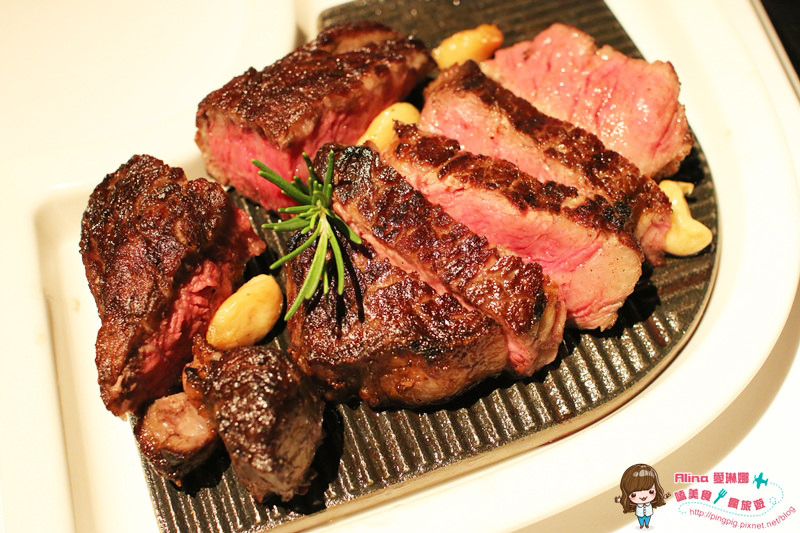 【食記】台北 中山國小站 歐華酒店地中海牛肋排牛排餐廳 傳說中的金牌級濕式熟成神戶肋眼牛排 @Alina 愛琳娜 嗑美食瘋旅遊