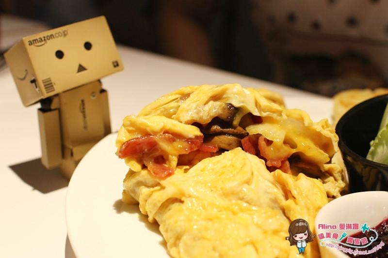 【食記】台北中山 Cafe La Mode 歐姆蛋捲配上布丁吐司的悠閒下午茶 @Alina 愛琳娜 嗑美食瘋旅遊