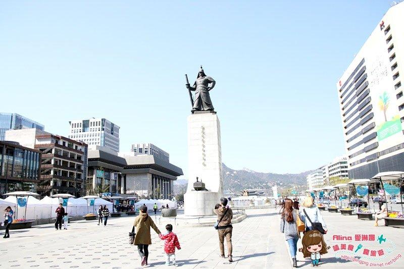 【韓國首爾自由行】533 光化門廣場 韓劇場景 來自星星的你 仁顯王后的男人 城市獵人 @Alina 愛琳娜 嗑美食瘋旅遊