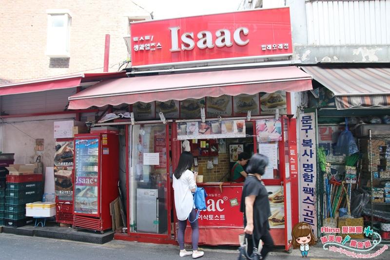 【韓國首爾自由行】205/422 Isaac東大門美麗來店 韓國必吃烤吐司早餐 24小時營業
