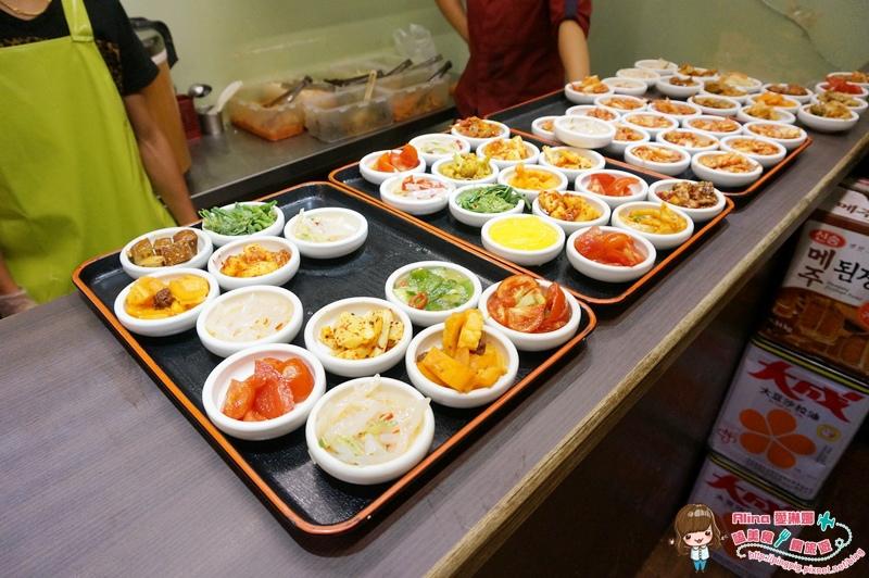 【食記】台北東區 朝鮮味 韓國料理 50道免費小菜吃到飽 比烤肉豆腐鍋還誘人 @Alina 愛琳娜 嗑美食瘋旅遊