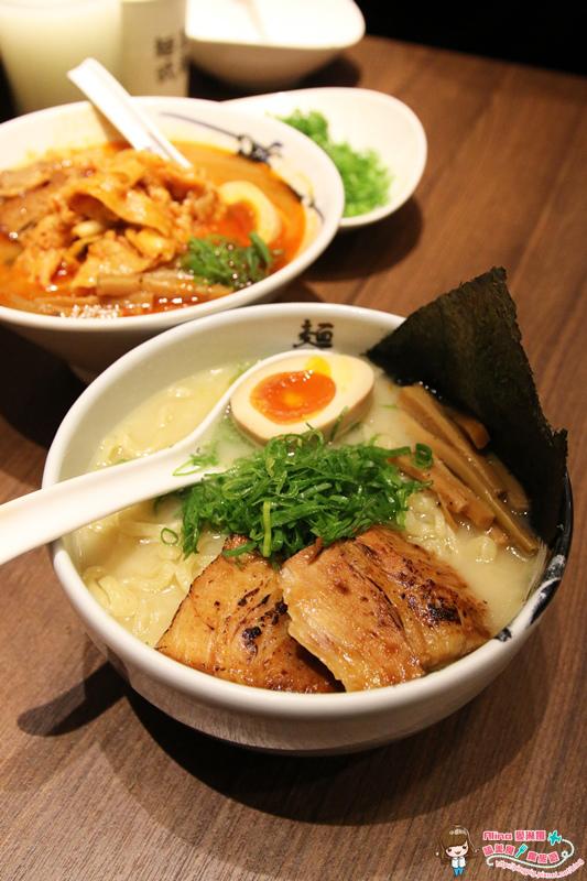 【食記】台北信義 微風松高 麵屋武藏 虎洞 日式拉麵 湯頭鮮美 麵條Q彈 @Alina 愛琳娜 嗑美食瘋旅遊