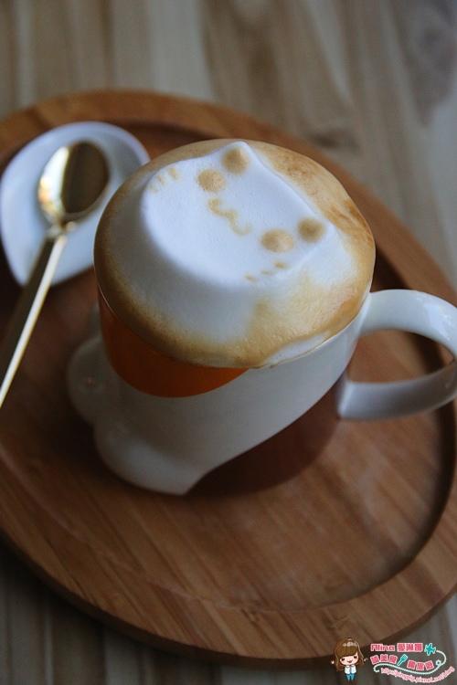 【食記】台北市府 世貿101 框影咖啡 The Who Cafe 貓腳蹼杯子盛裝的可愛貓咪立體拉花咖啡 @Alina 愛琳娜 嗑美食瘋旅遊