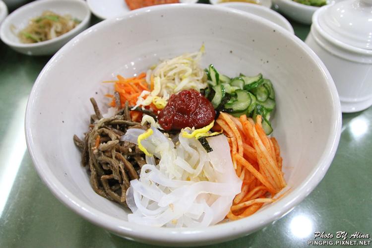 【韓國首爾自由行】梨大241 BaB韓式拌飯 밥 비에이비 傳統家庭式拌飯跟豆腐鍋 @Alina 愛琳娜 嗑美食瘋旅遊