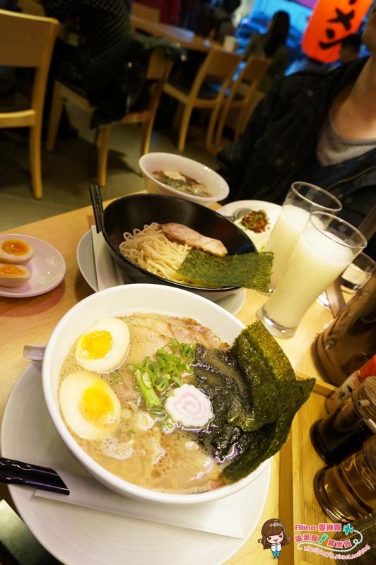 【食記】台北東區 世田谷拉麵  日本東京有名的拉麵店就在忠孝敦化216巷 超愛秘醬豚骨沾麵 @Alina 愛琳娜 嗑美食瘋旅遊
