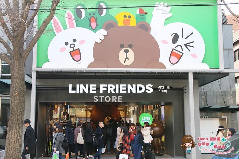 【首爾自由行】337新沙洞 LINE FRIENDS Store & Café旗艦店 라인프렌즈 플래그십 스토어 @Alina 愛琳娜 嗑美食瘋旅遊