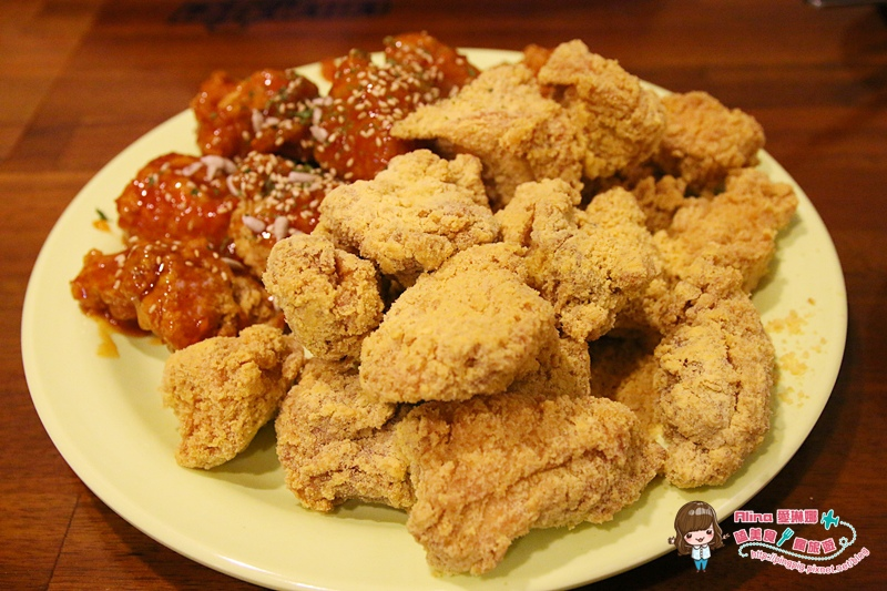 【首爾自由行】新村梨大 NENE炸雞 RunningMan 劉在石代言的韓國炸雞 @Alina 愛琳娜 嗑美食瘋旅遊
