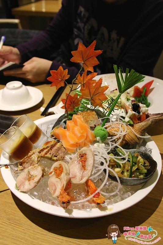 【食記】宜蘭礁溪 竹 創意料理 台日結合的超豐盛海鮮大餐 冒煙的石頭無菜單料理 @Alina 愛琳娜 嗑美食瘋旅遊