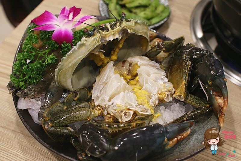 【食記】台北市府 十二籃 秋蟹盛產季必吃  沙公海陸粥火鍋實在鮮美 @Alina 愛琳娜 嗑美食瘋旅遊