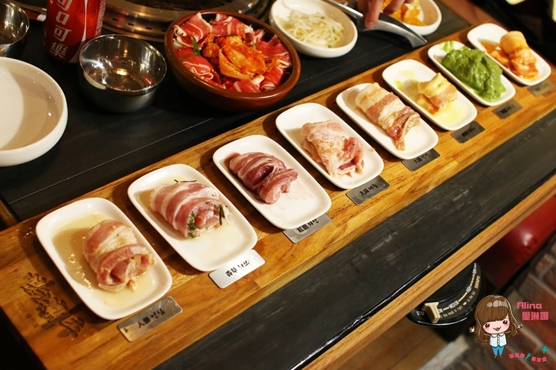【食記】台北東區 江原慶白菜 韓國烤肉 韓式八色五花烤肉 微風百貨美食街 @Alina 愛琳娜 嗑美食瘋旅遊