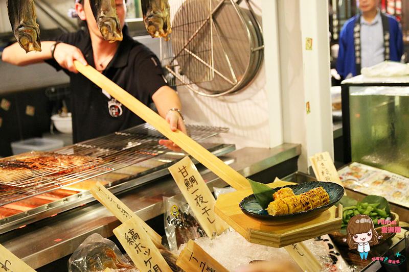 【食記】台北中山 狸爐端燒居酒屋 林森北八條通 豐盛多樣美味 日式生魚片串燒烤物小火鍋