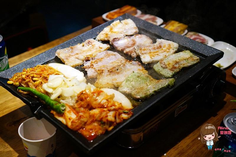 【食記】台北東區 娘子韓食 市民店 八色豬五花韓式烤肉 辣味海鮮鍋 生菜包肉最對味 @Alina 愛琳娜 嗑美食瘋旅遊