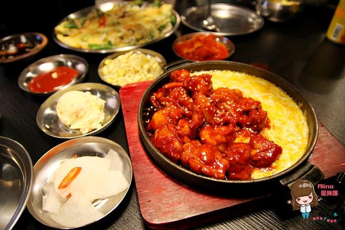 【食記】台北東區 Pocha 韓式熱炒 포차 起司噴火雞 部隊鍋 辣的帶勁 起司雞蛋捲牽絲好吃 @Alina 愛琳娜 嗑美食瘋旅遊