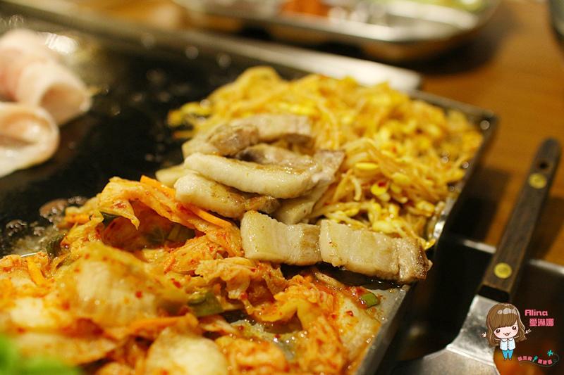 【食記】台北中山 VEGETEJIYA 菜豚屋 林森店 韓風日骨韓式烤肉 有機生菜包肉健康好吃 @Alina 愛琳娜 嗑美食瘋旅遊