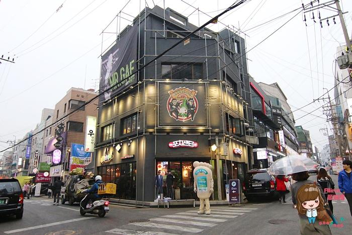 【首爾自由行】337新沙 Ssang Pocha Center 포차센타 Gary歐霸開的韓式熱炒店 地圖跟中文菜單 @Alina 愛琳娜 嗑美食瘋旅遊