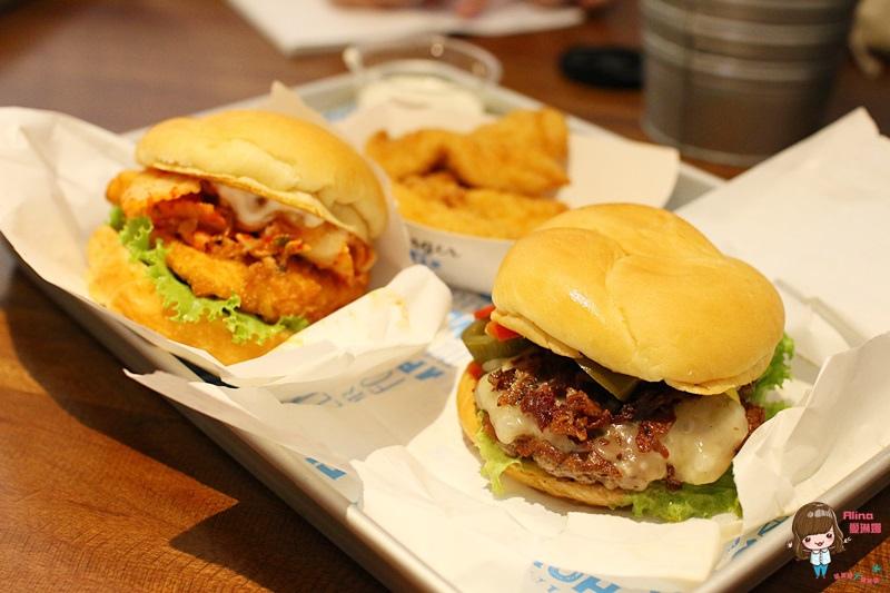 【食記】台北東區 Burger Fix 美式漢堡專賣店 限定10款特色漢堡 環遊美國 國賓A-cut牛肉手打漢堡肉 @Alina 愛琳娜 嗑美食瘋旅遊