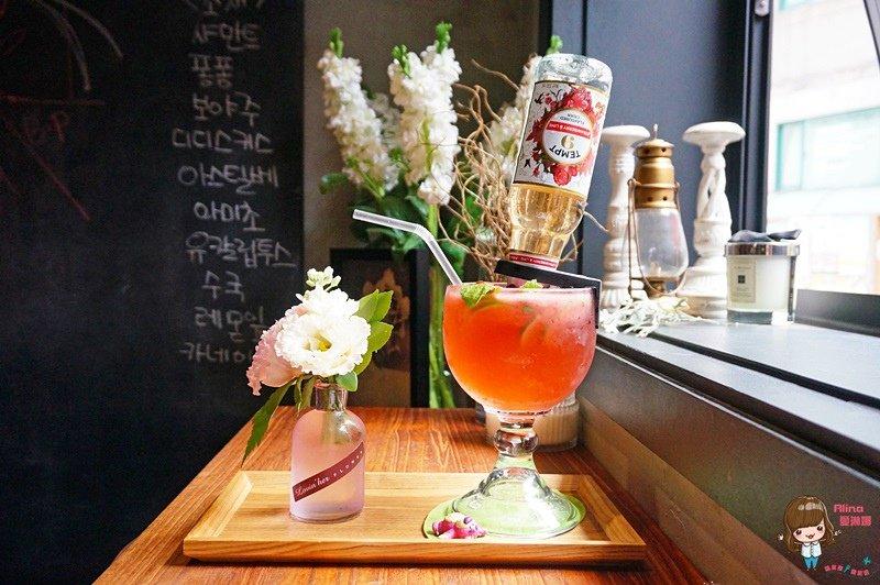 弘大花草咖啡館 Florte Flower Cafe