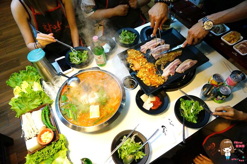 【食記】台北東區 八色烤肉 一號店 正宗韓國八色豬五花韓式烤肉 泡菜海鮮辣湯 起司炒飯好滿足 @Alina 愛琳娜 嗑美食瘋旅遊