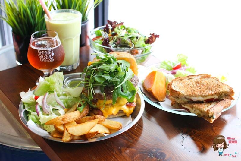 【食記】台北科技大樓 漫高三明治 平價便宜又好吃 爆漿起司牛肉溏心蛋巧巴達 馬芝瑞拉起司烤三明治 @Alina 愛琳娜 嗑美食瘋旅遊
