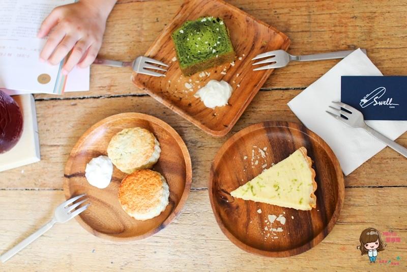 【食記】台北大安 SWELL CO. CAFE 夏天海洋風咖啡館 迷你版衝浪者天堂 近信義安和捷運站 @Alina 愛琳娜 嗑美食瘋旅遊