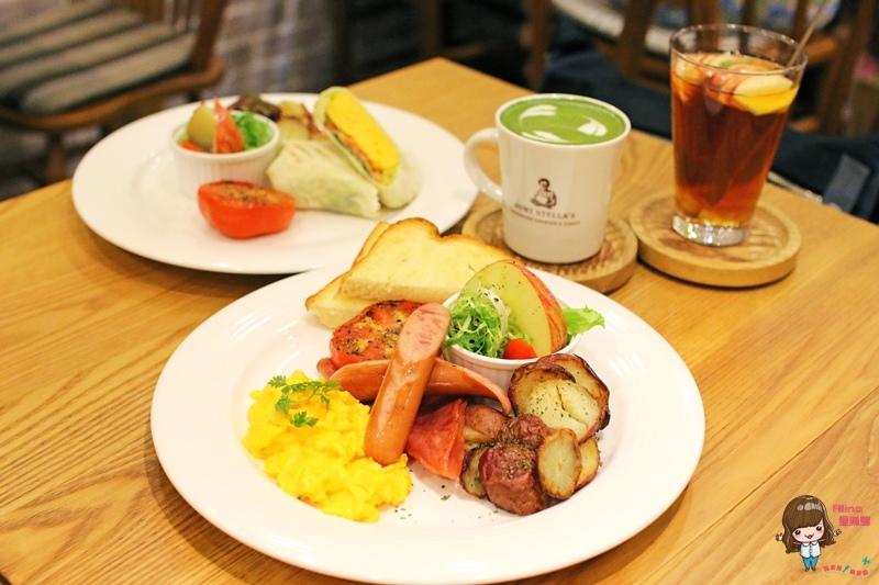 【食記】台北東區 詩特莉 AUNT STELLA 早午餐新菜色 美式鄉村 熱烤培根菠菜捲 起司鹹派大推
