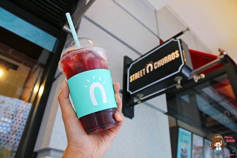 【食記】台北 Street Churros 韓國吉拿圈 吉拿熱狗 新品野莓果茶 台灣二號店新開幕 信義新光三越A8