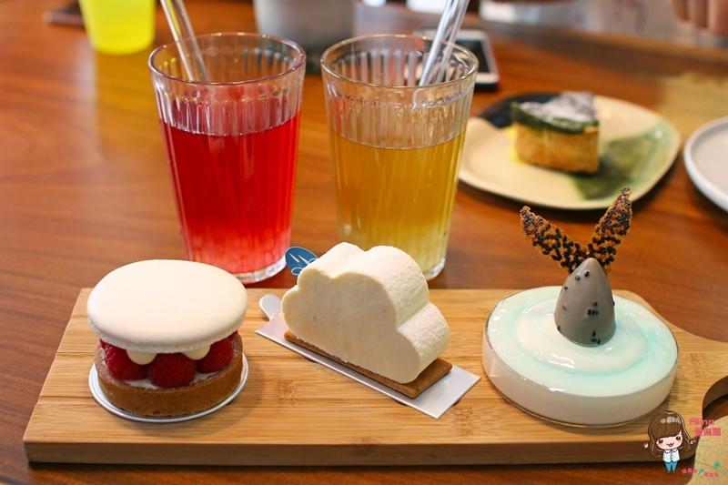 【食記】台北信義安和 河床工作室 Pâtisserie Rivière 浪漫可愛的法式甜點下午茶 雲朵清爽酸甜 @Alina 愛琳娜 嗑美食瘋旅遊
