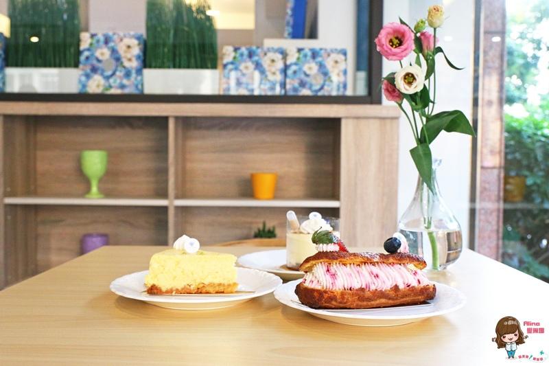 【食記】台北士林 藍氣球 Le Bleu Ballon Pâtisserie 有點法式的手工點心舖 柚香重乳酪蛋糕 @Alina 愛琳娜 嗑美食瘋旅遊