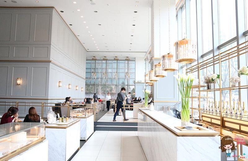 【首爾美食購物】424明洞 玻璃屋早午餐 BOVER LOUNGE 보버라운지 新世界百貨免稅店