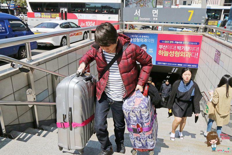 【釜山自由行】釜山 金海機場接送 愛他就請不要操壞他 駝獸的體力要留在逛街購物之時 @Alina 愛琳娜 嗑美食瘋旅遊