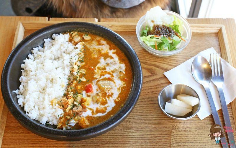 【首爾自由行】益善洞121익선동 仁寺洞 傳統韓屋內吃咖哩飯簡餐 韓國一人友善餐廳