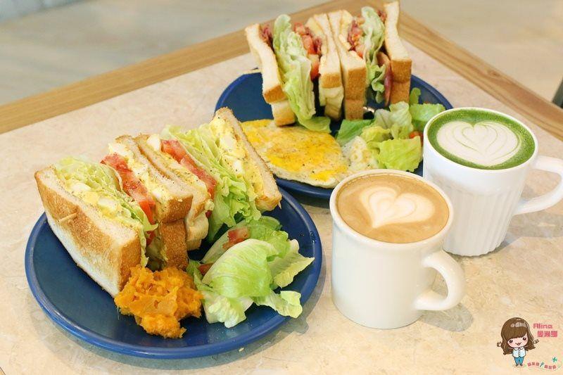 【食記】台北大安 餵我早餐 The Whale 烤吐司三明治 早午餐咖啡館 用餐限時60分鐘 @Alina 愛琳娜 嗑美食瘋旅遊