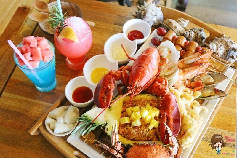 【濟州島自由行】牛島龍蝦海鮮 CoCoMAMA 코코마마 超好吃波蘿炒飯 浮誇的龍蝦料理 @Alina 愛琳娜 嗑美食瘋旅遊