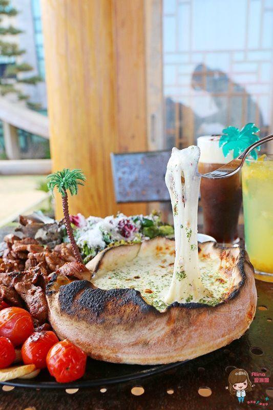 【濟州島自由行】AIYA Cafe 海景韓屋咖啡館 西歸浦城山日出峰 黑豬肉日出峰披薩