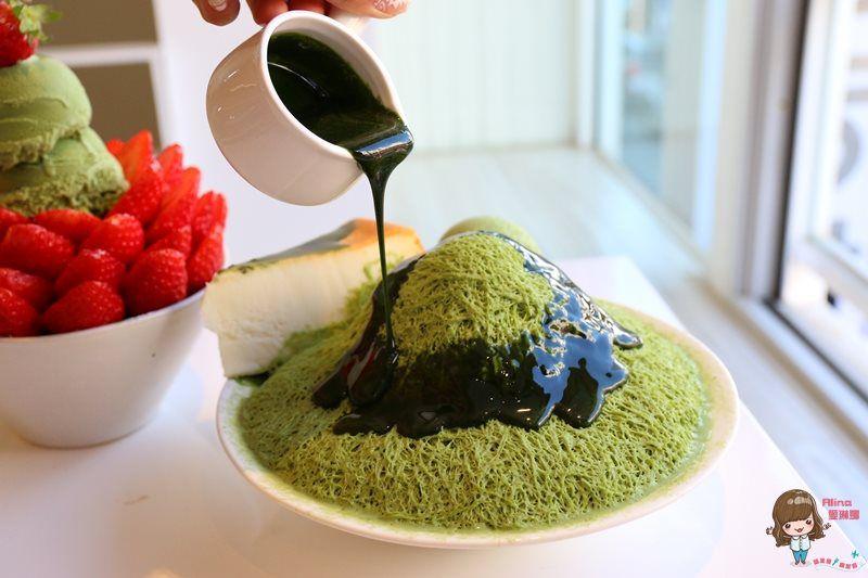 【濟州島自由行】濟州市廳市政府 Alice 앨리스 抹茶綠茶起司蛋糕雪花冰 Instagram熱門打卡冰店