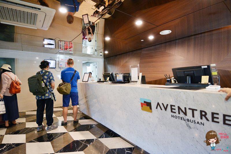【釜山飯店】釜山亞雲樹酒店 Hotel Aventree Busan 房間舒適交通方便 在釜山最熱鬧的區域