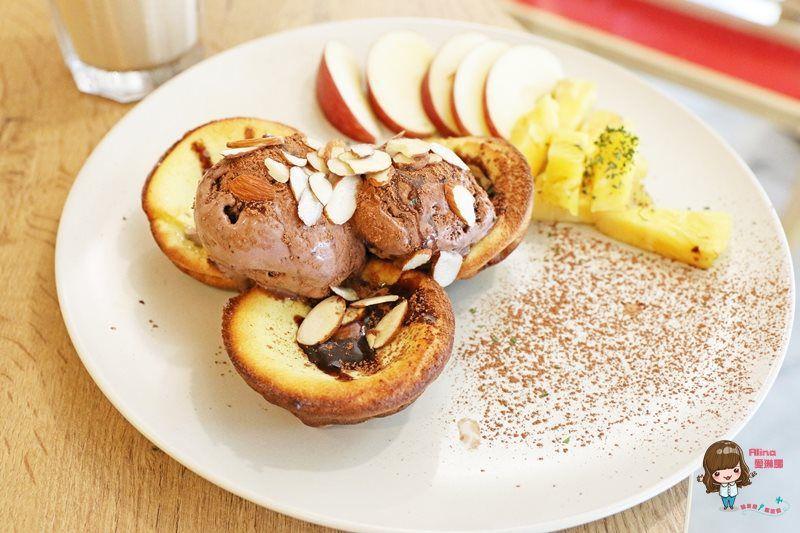 【食記】台北永春 羊果 健康輕食早午餐 大推荷蘭熱鬆餅 手作麵包Q彈好吃 @Alina 愛琳娜 嗑美食瘋旅遊